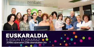 Zenbaki aholkulariak abokatuak taldea euskaraldia